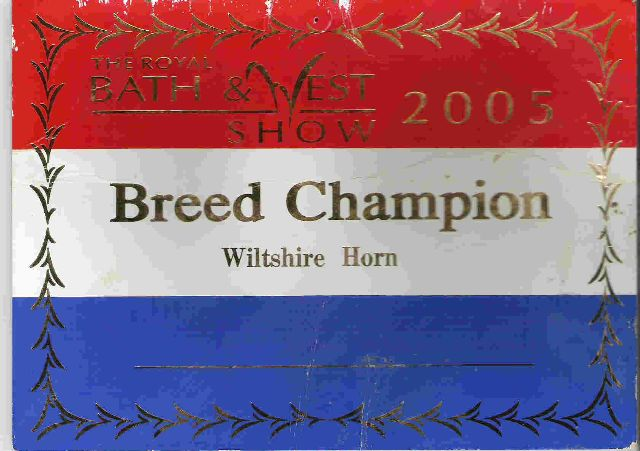 breed champion 2005